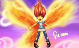 Sunset Shimmer: The Pheonix by Loveless-Nights