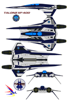 Talon2 Xf-400 U.s.s. Pacifica by bagera3005
