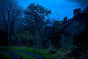 Spooky House by BusterBrownBB