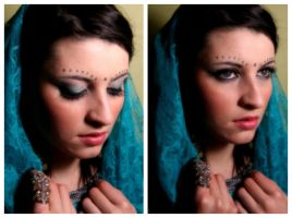 Bollywood/Indian Makeup by Tata-Chan1012