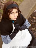 Bravely Default - Praying Agnes by MegaPollen