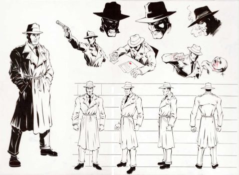 Detective Character Sheet by Erik-Benson