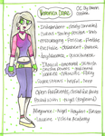 .:Veronica (1999) Reference Sheet:. by PrennCooder
