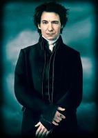 Severus Snape: ready for the Christmas ball. by Simulcika