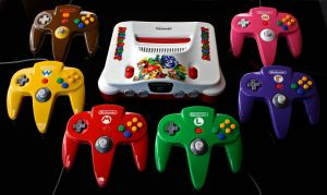 custom Mario Party N64 set by Zoki64