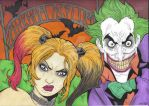 Joker and Harley by ccootttt