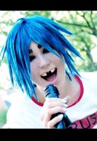 GoRiLLaZ Cosplay 217 2D SCREAM by Murdoc-lein