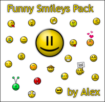 Funny Smileys Pack by alex-design