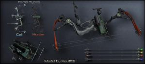Compound Bow For Crysis 2 by Nevil112