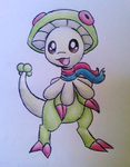Commission: Sica the Breloom by LolloTheVaporeon