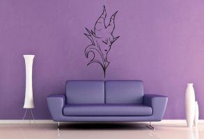 Maleficent Wall Decal by GeekeryMade