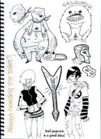Sketchbook 03 by Sam-M
