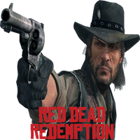 Red Dead Redemption Dock Icon by Rich246