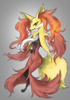 Delphox by nutJT