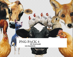 PNG PACK 4 by kanamme