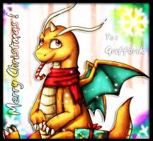 PKMN - a Dragonite Christmas by catkitte