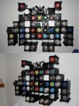 105 - Space Invader Paint Rack by BombinArt