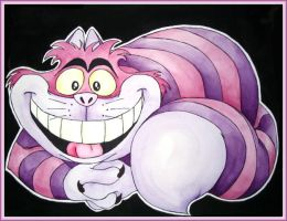 The Cheshire Cat by Salawoof