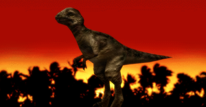 MMD Newcomer Pachycephalosarus + DL by Valforwing
