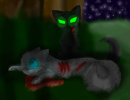 HollyLeaf: Two can't keep a secret by blackkitty5