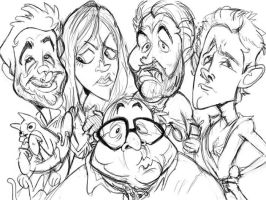 Always Sunny Sketch by dodgyrommer