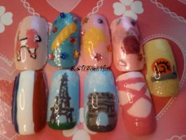 French Nails by SoCUTEicleNails