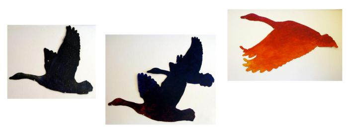 Stencil - My Geese by color-me-red