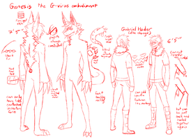Genesis Full reference sketch by Hydra-Shark
