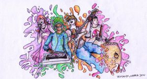 The Music Festival by troisnyxetienne