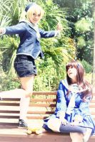Fruits Basket Cosplay: Momiji and Tohru by Awesome-Vivi