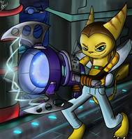 ratchet and clank - plasma coil by Dr-Platinum