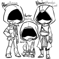 Hoodies by cooga01