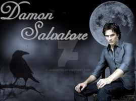 Damon Salvatore - Raven by Jeanny89