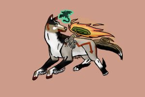 Okami Styled Challenge by Aeyote