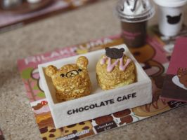 Rilakkuma Chocolate Cafe Re-ment by ImSugarRibbon