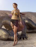 Goddess of the Desert by JavierMicheal