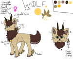 WOLF (OC) by WolfAxis