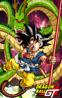 Dragon Ball GT Kid Goku by Tp1mde
