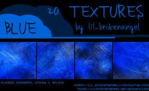 Textures - Blue by lilbrokenangel