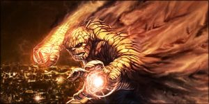 Smudge that Benjamin Grimm XD ::::: MY LEGACY by aking144