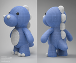 Cute dinosaur plush design by m7