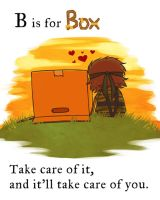 MGS - B is for Box by FerioWind