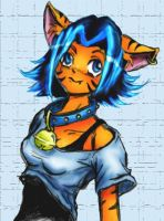 Bloo Tigey by lavi
