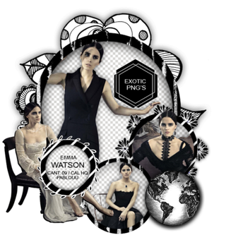 Pack Png 1279 // Emma Watson. by ExoticPngs