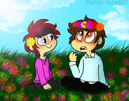 Flower Crowns by Pepsi-Rabbit