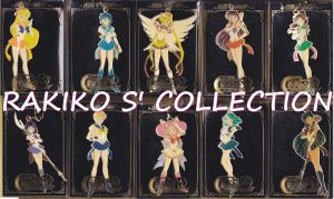 All SailorMoon metal keychains by RakikoHime