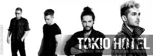 Tokio Hotel 2014 (Facebook cover) by DysfunctionalHuman