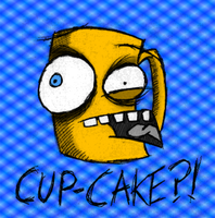 Cup Cake Coloured by TJ-Triple-J