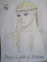 Prince Legolas of Mirkwood by Shadow-Hunter-o0o