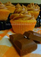 Chocolate Orange Buttercream Cupcakes by lady-obsessed